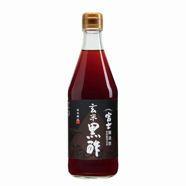 なんとJAS規格6倍の量の無農薬玄米(京都丹後産)を使用【飯尾醸造 富士玄米黒酢】500ml