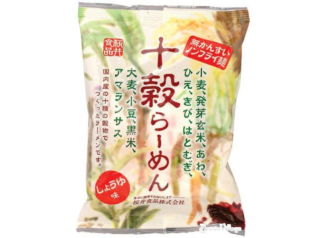 【無添加・十穀ラーメン・しょうゆ味】健康食生活をしていたって、インスタントラーメンを食べたい!っていう時もあります。