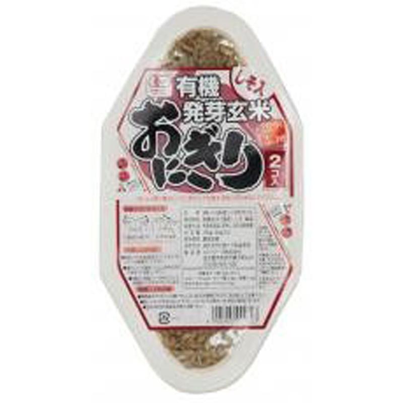 超簡単★デトックスランチ【有機発芽玄米おにぎり・しそ】(ムソー)