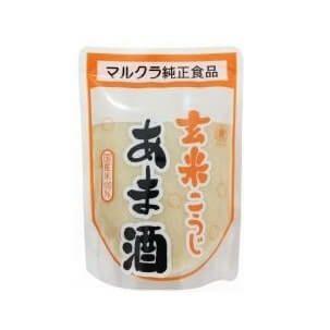女性にうれしい栄養がたっぷり!【玄米こうじあま酒(マルクラ)】