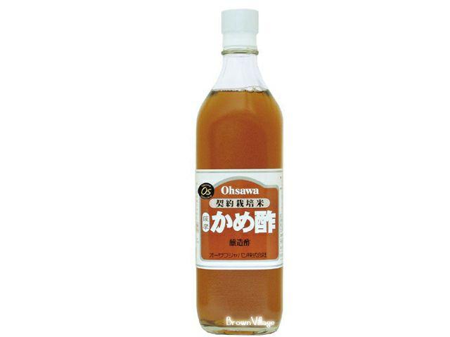 かめで玄米をゆっくりと熟成したお酢【薩摩かめ酢】(オーサワジャパンの酢)