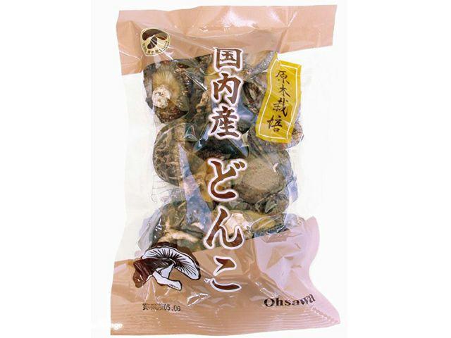 【国内産どんこ(50g)椎茸】 オーサワジャパンの乾物