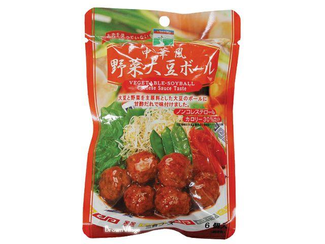 【中華風野菜大豆ボール100g(三育)】