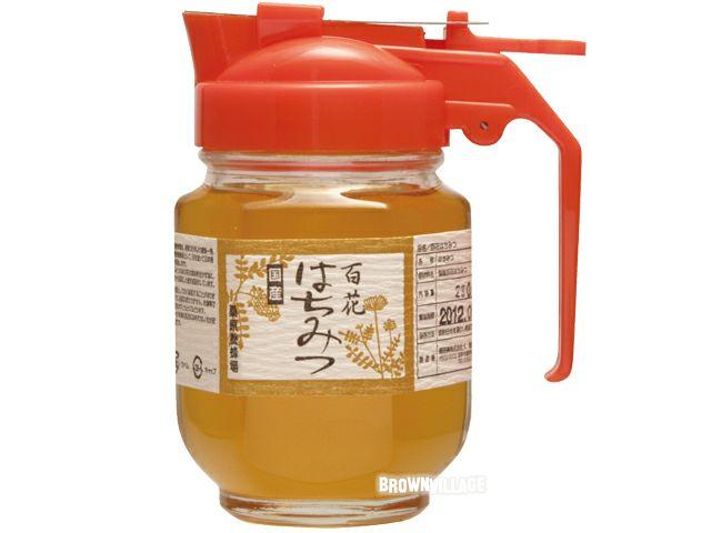 【国産百花はちみつ(230g)】 百の花の美味しさを(オーサワジャパンの甘味料)