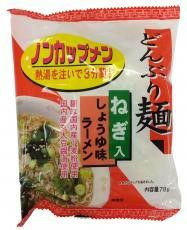 【どんぶり麺・しょうゆ味ラーメン (トーエー・78g)】×4袋