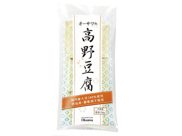 オーサワの高野豆腐(6枚入)