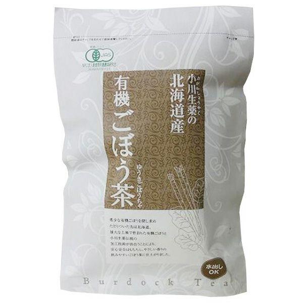 デトックスで話題!★【北海道産 有機ごぼう茶ティーバッグ 45g(30袋)】小川生薬