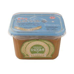 ひえのみそクリーミー 500g(マルカ味噌)<大豆、小麦、米アレルギーの人向けの味噌調味料>