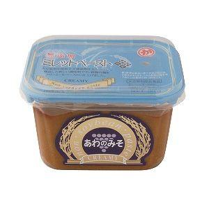 あわのみそクリーミー 500g(マルカ味噌)<大豆、小麦、米アレルギーの人向けの味噌調味料>