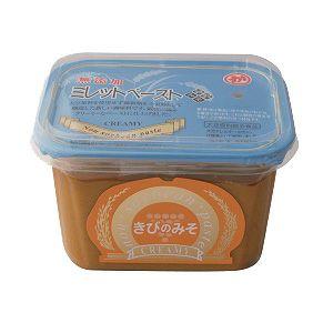 きびのみそクリーミー 500g(マルカ味噌)<大豆、小麦、米アレルギーの人向けの味噌調味料>
