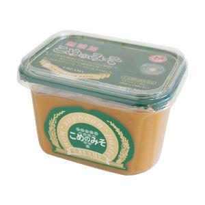 こめのみそクリーミー 500g(マルカ味噌)<大豆、小麦アレルギーの人向けの味噌調味料>