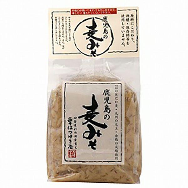 鹿児島の麦みそ 1kg(塩分8.4%・減塩味噌)はつゆき屋