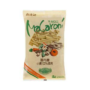 国内産小麦100%使用 ショートパスタ 300g (創健社)