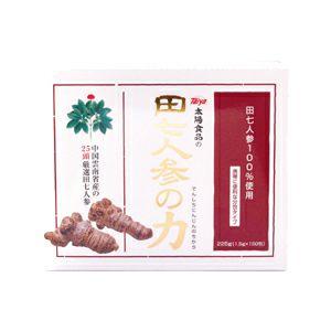 田七人参の力 225g(1.5gx150)(太陽食品)