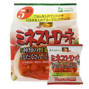 ミネストローネ(フリーズドライ) 6.5g×4袋(創健社)