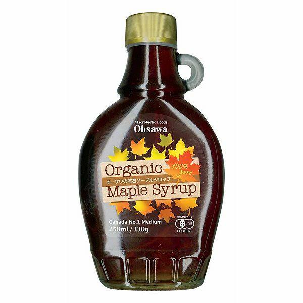オーサワの有機メープルシロップ 250ml(瓶)