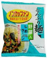 【どんぶり麺・しお味ラーメン 78.5g (トーエー)】×4袋入