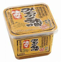 酵母が生きてる!【みちのく味噌 カップ 500g】(創健社)