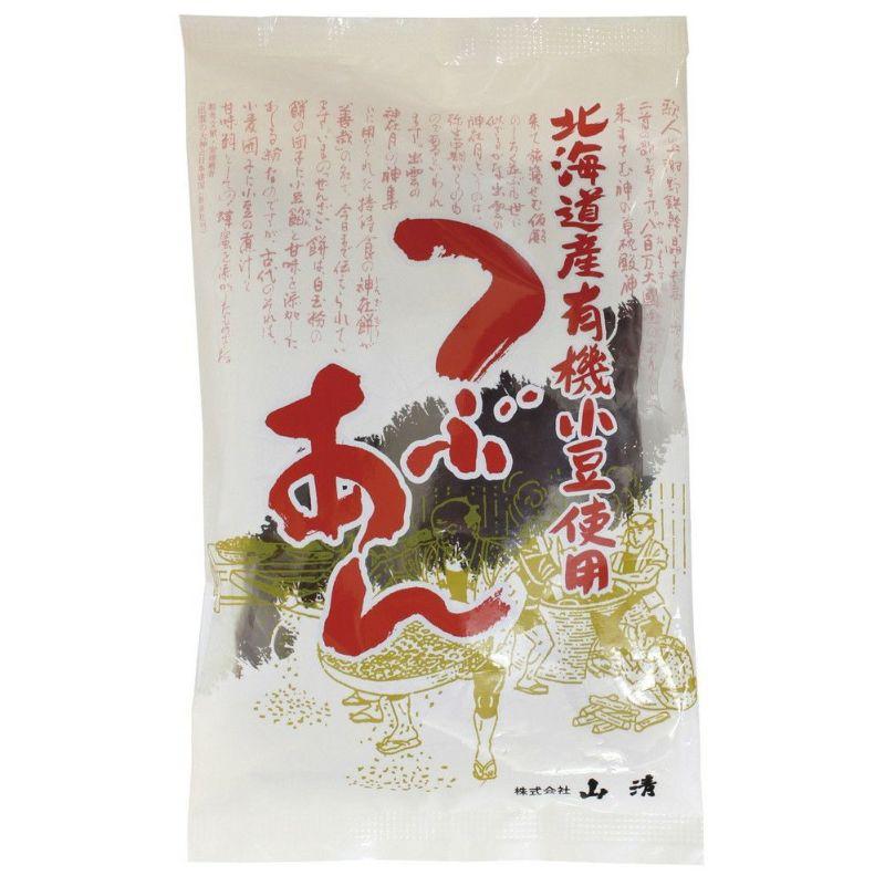 (山清)北海道有機小豆つぶあん200g