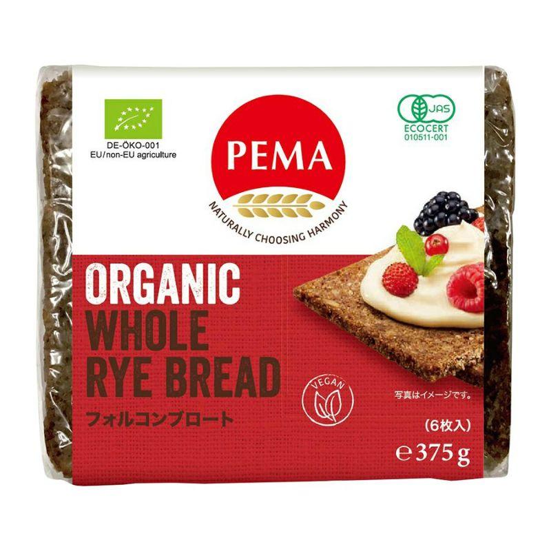 PEMA 有機全粒ライ麦パン(フォルコンブロート)