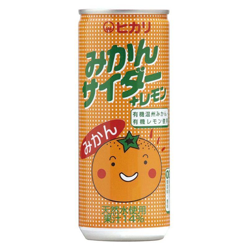 ヒカリ みかんサイダー+レモン
