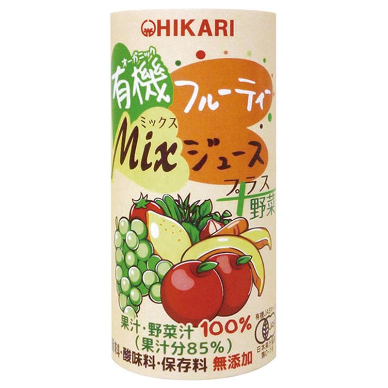 ヒカリ 有機フルーティ-Mixジュース プラス野菜