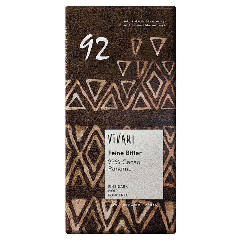 ViVANI オーガニック エキストラダークチョコレート 92%