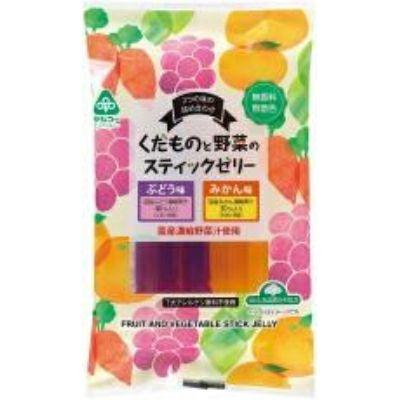 【夏季限定】くだものと野菜のスティックゼリー(サンコー)16g×12個